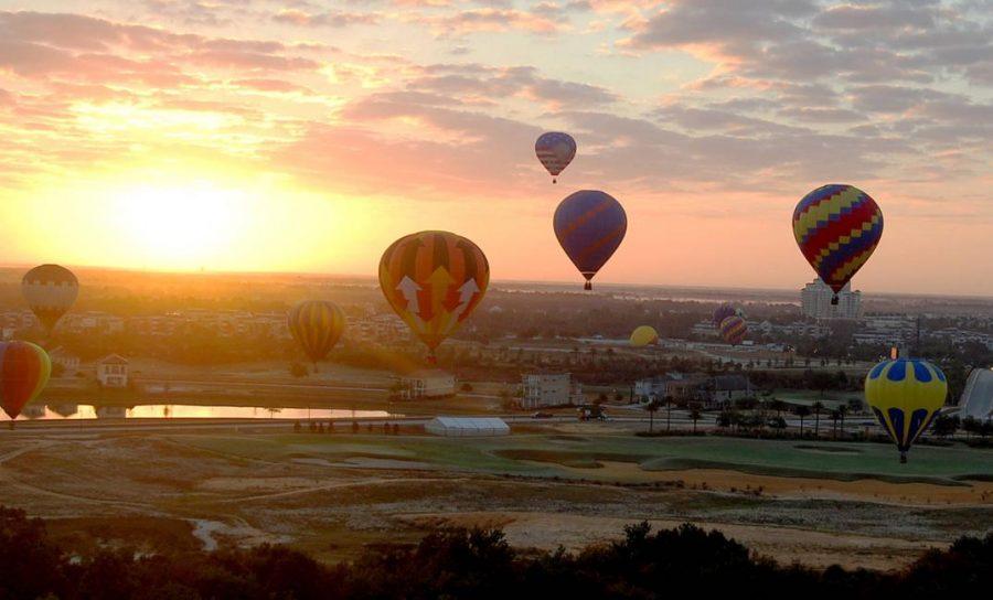 Hot Air Balloon Orlando, USA