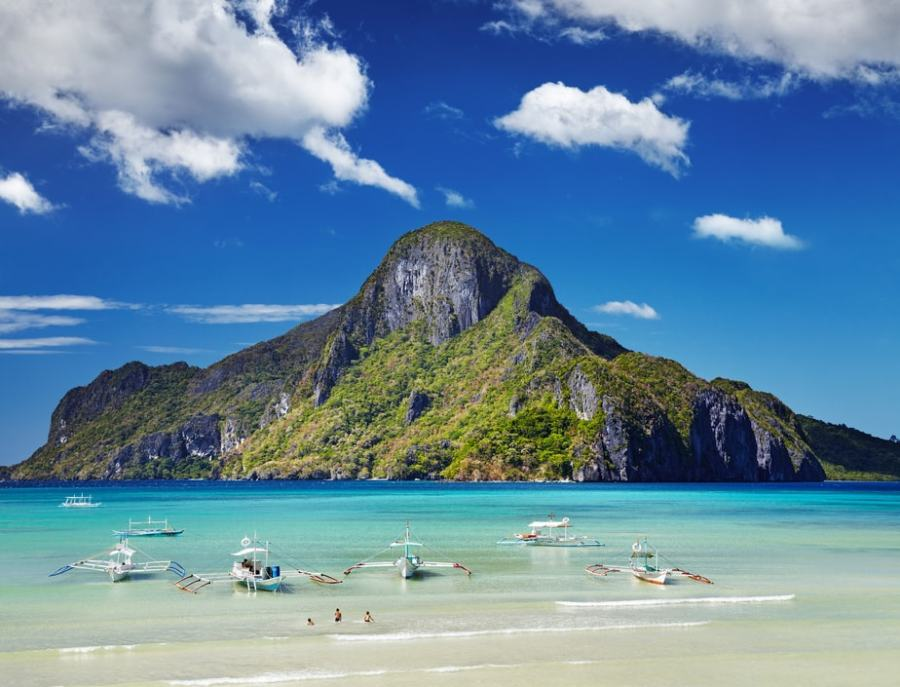 Palawan Island, Philippines: El Nido Bay