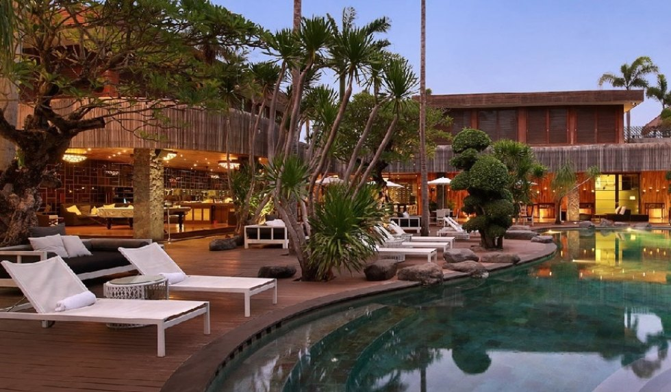 Seminyak villa for couples