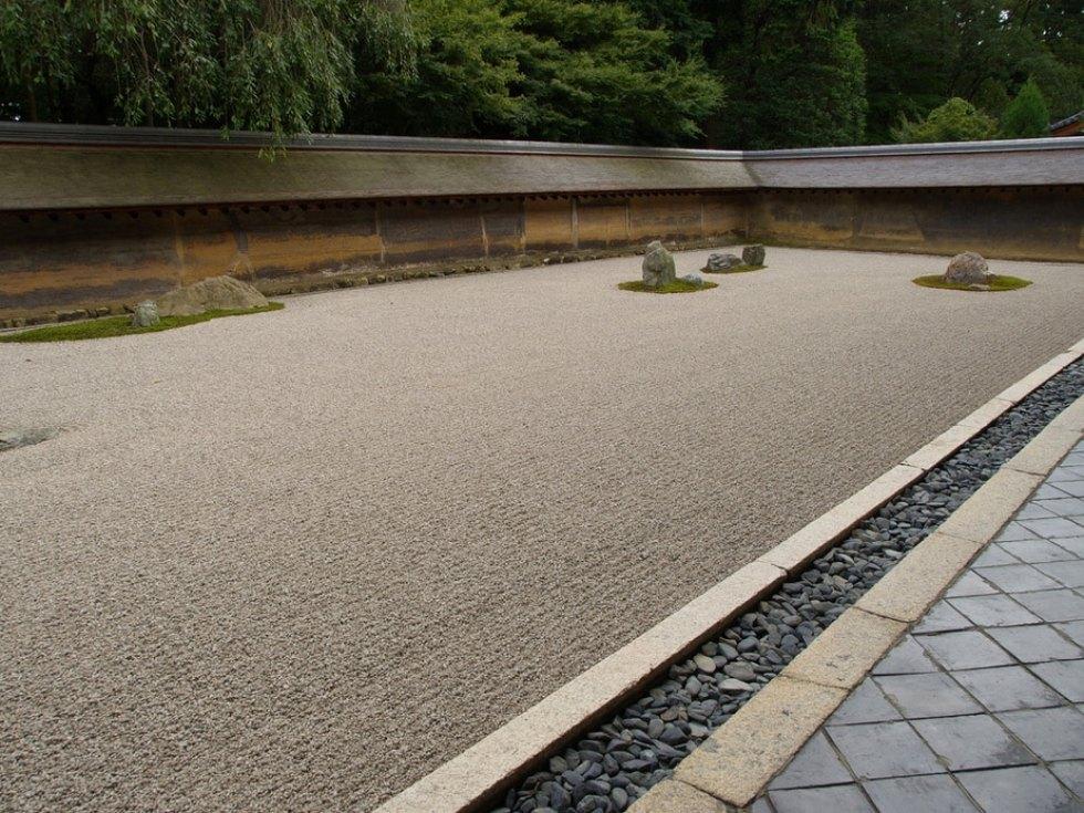 Kyoto, Japan: Ryoanji Rock Garden
