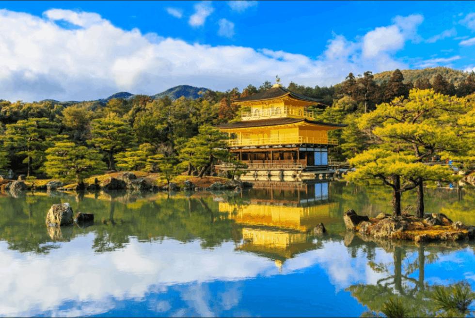 Kyoto, Japan: Kinkakuji Temple