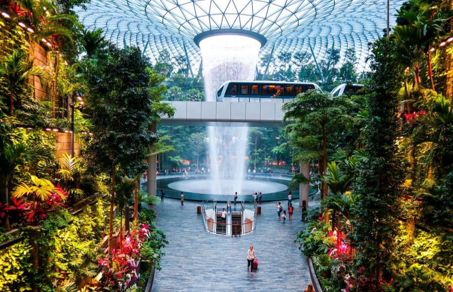 Changi jewel and the vortex
