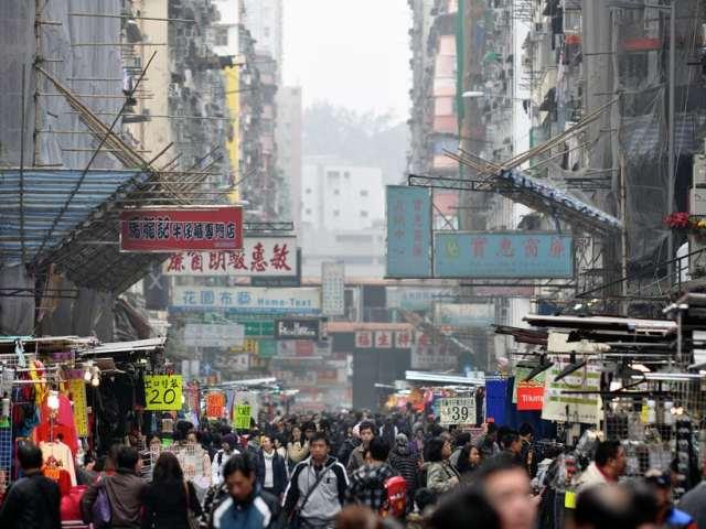 Hong Kong Market: Sneakers Street