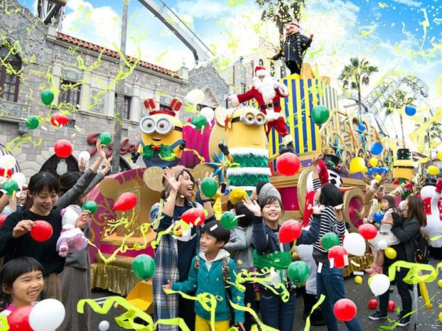 Your Guide to Christmas at Universal Studios Japan