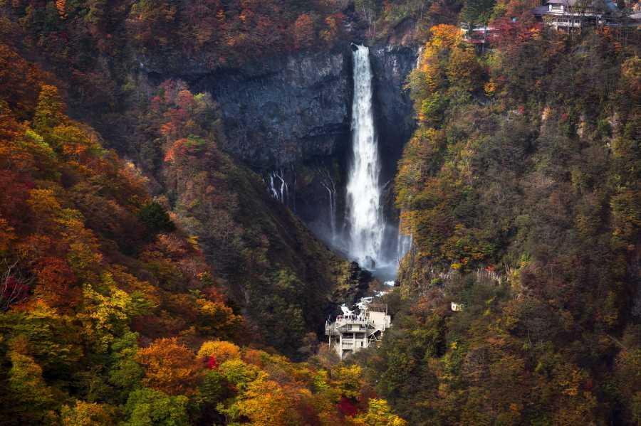 Kegon Falls (image via Shutterstock)