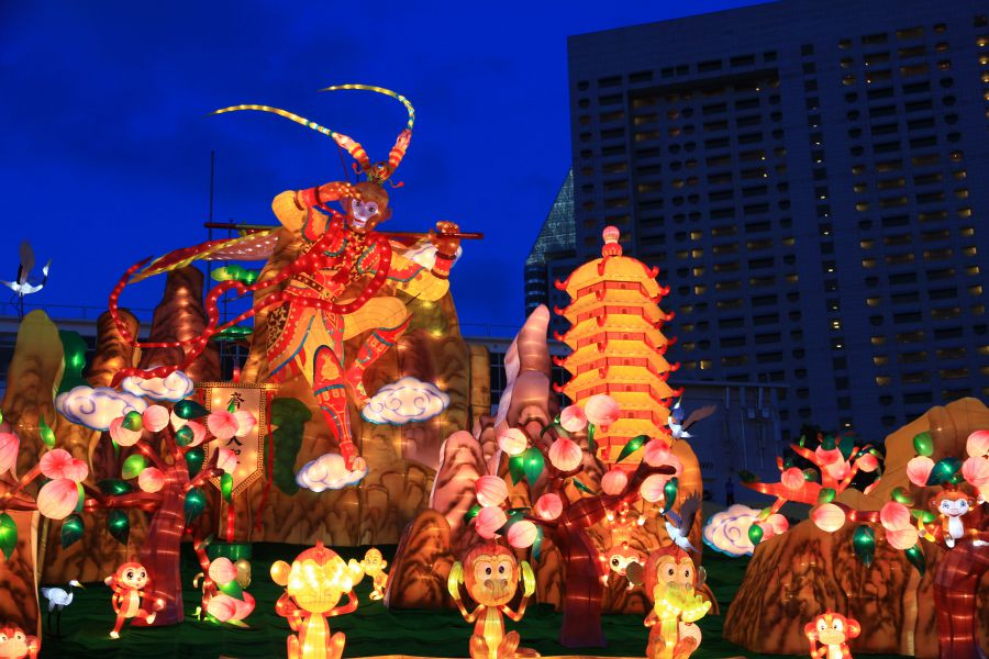 Chinese New Year in Singapore: River Hongbao Lantern Festival