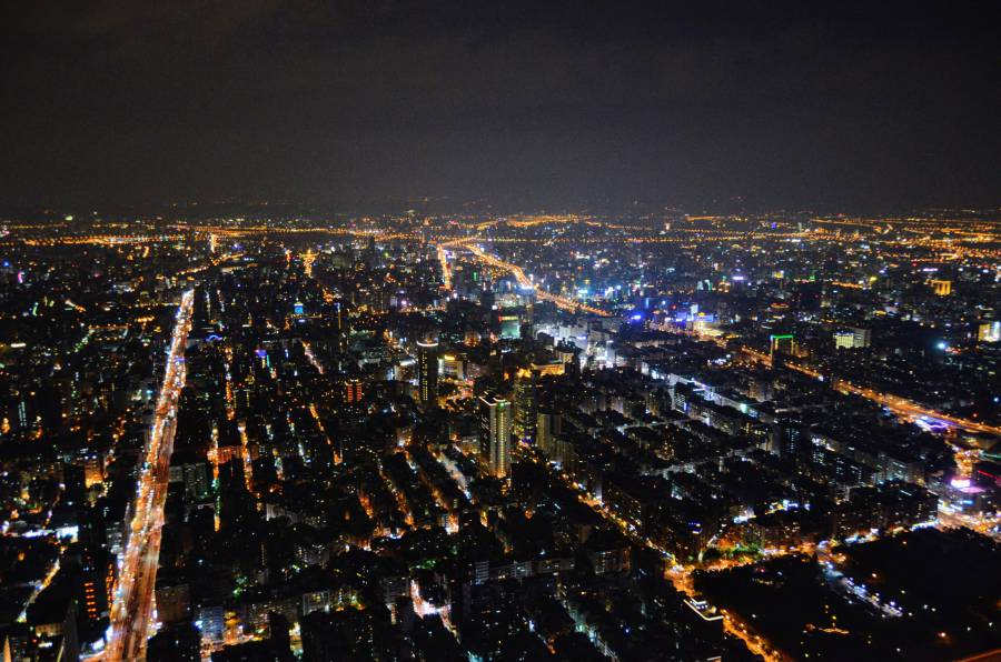Camp out under the stars and view Taipei's stunning cityscape!