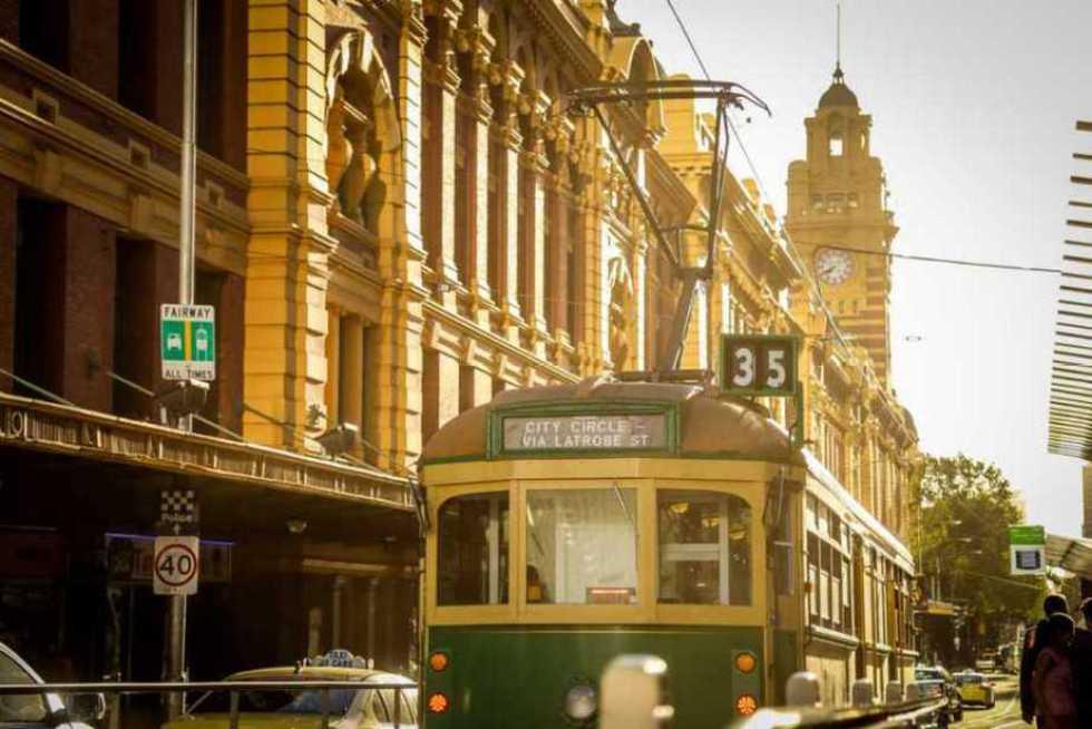 Explore vibrant Melbourne by public transportation