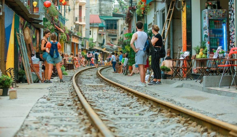 Exploring Hanoi's Train Street