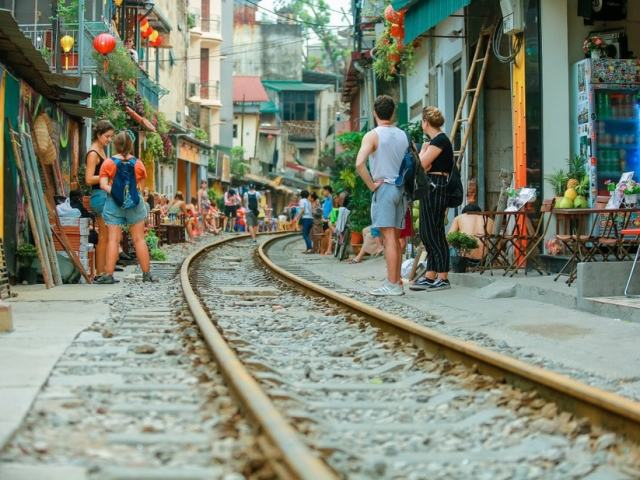 Exploring Hanoi's Train Street