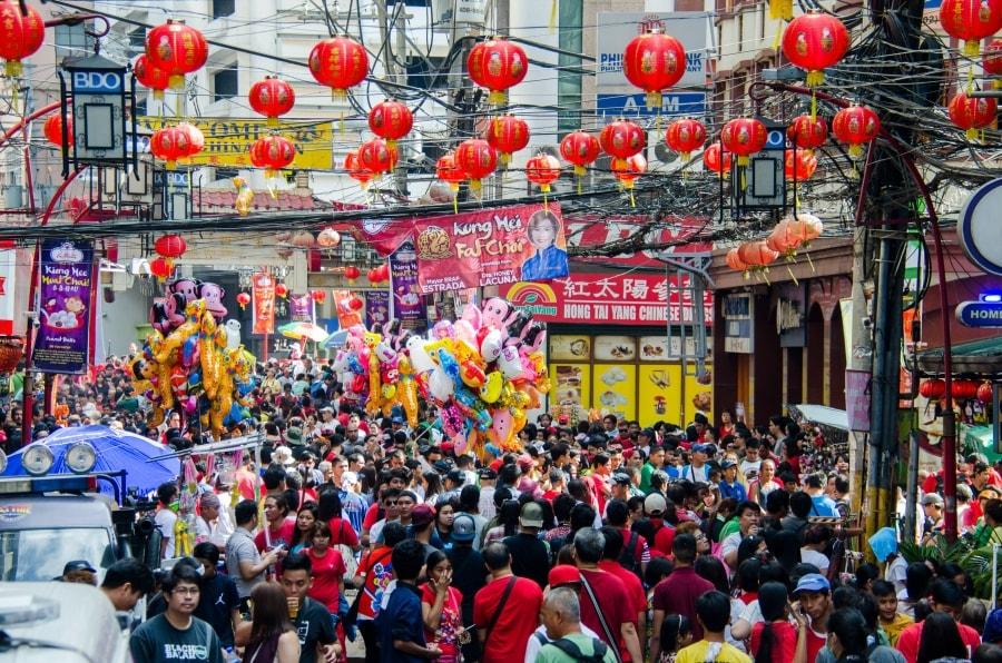 Oldest Chinatown Manila called Binondo