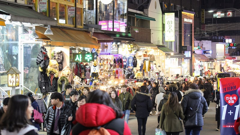 Shopping in Seoul: Hongdae