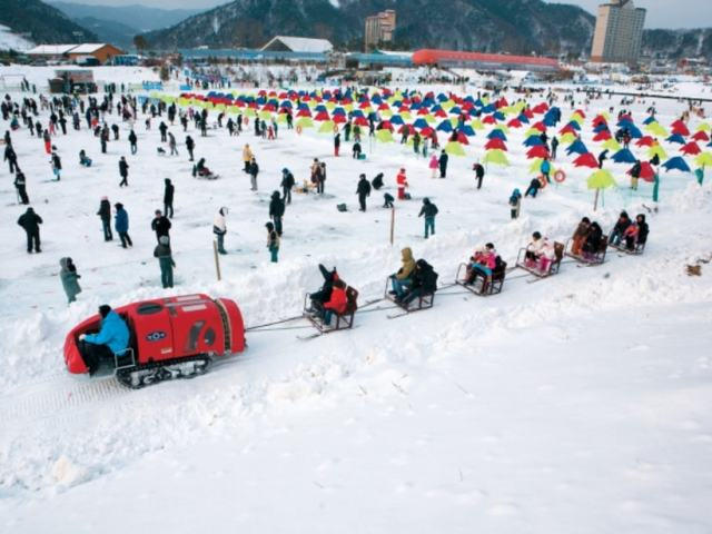 Why You Should Experience Pyeongchang's Trout Festival Ice Fishing At Least Once