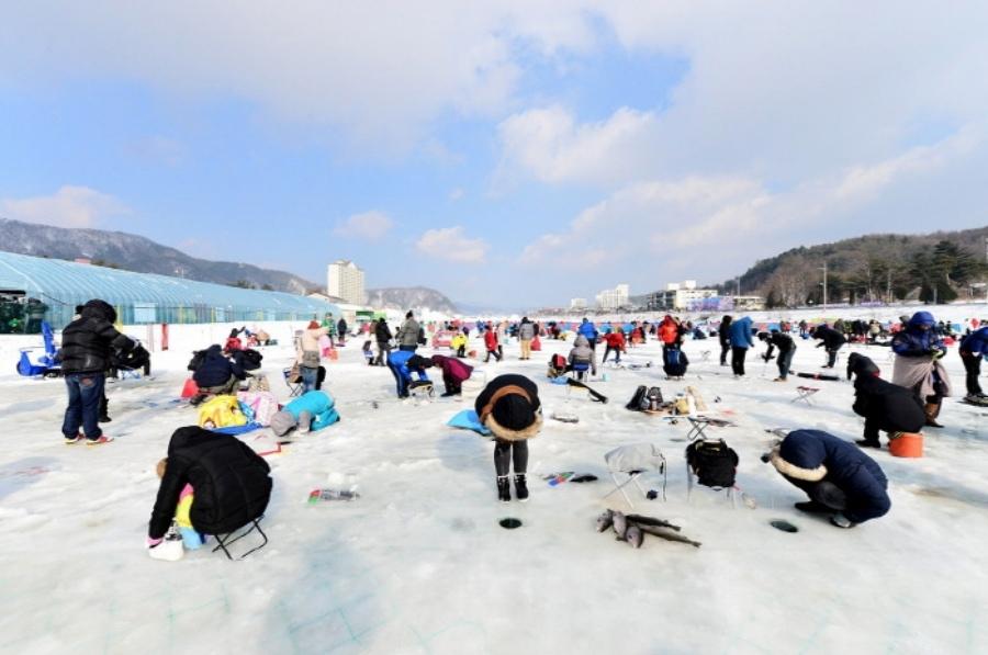 Pyeongchang Trout Fishing Festival