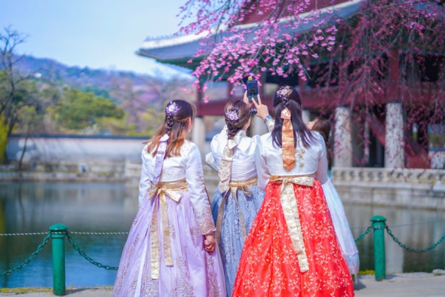 Hanbok South Korea