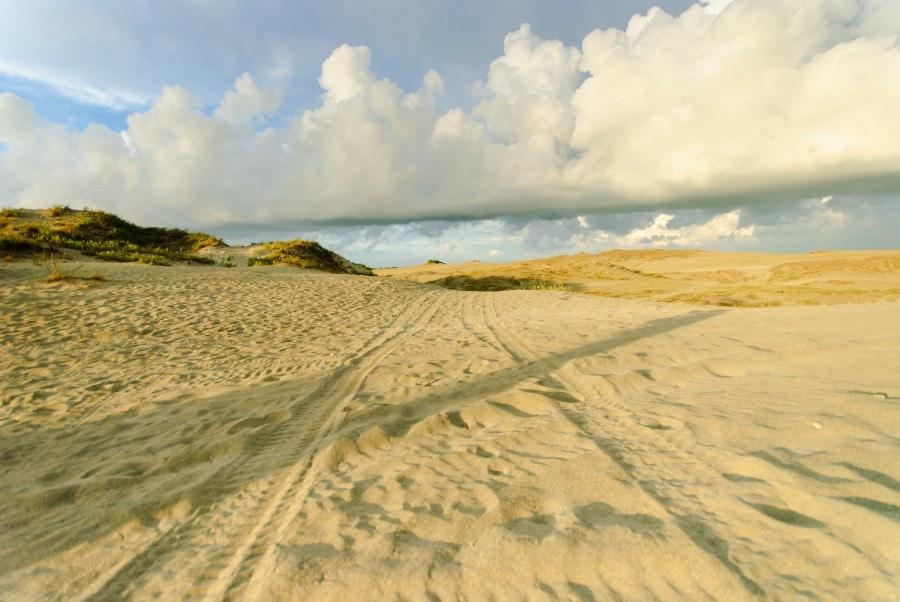 Paoay Sand Dunes, Ilocos Norte, Philippines