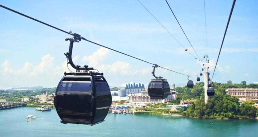 Singapore Cable Car Mount Faber
