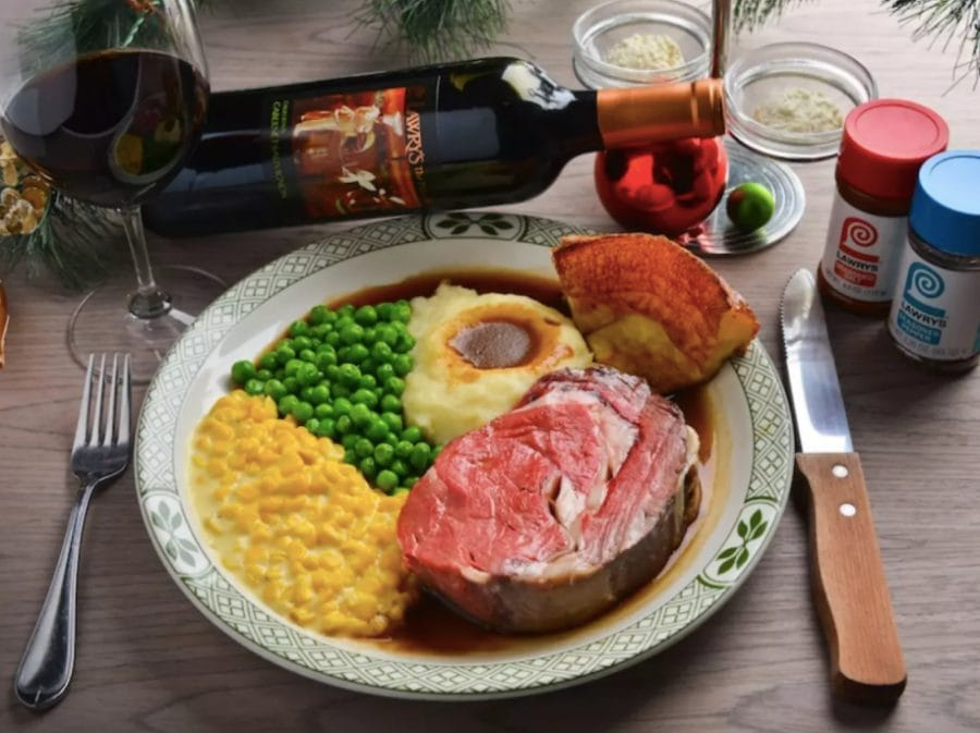 Lawry's Prime Rib Set Meal