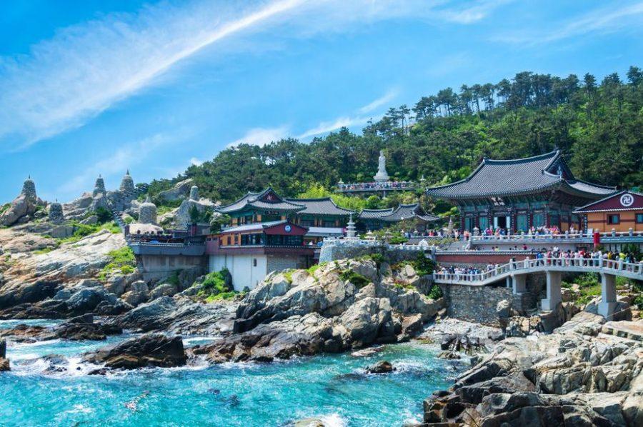 Busan, Korea: Haedong Yunggungsa Temple