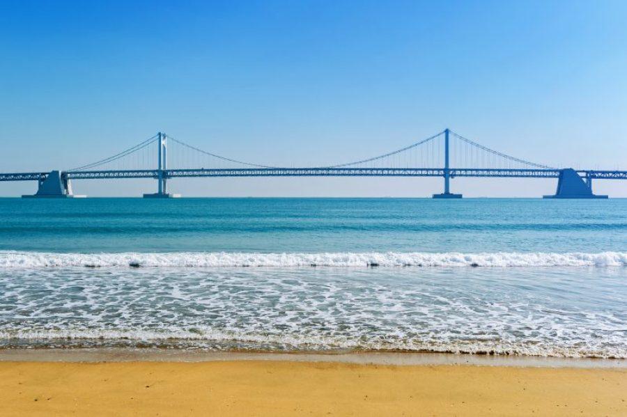 Busan, Korea: Gwangalli Beach