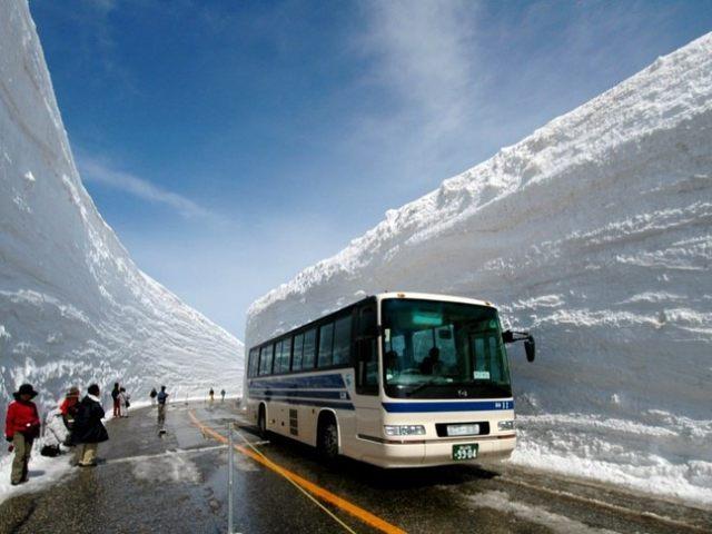 Visiting Tateyama Kurobe Alpine Route