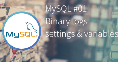 MySQL Binary logs settings and variables