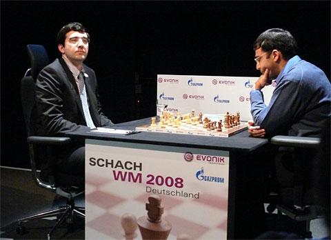 El duelo por el título mundial contra Kramnik en 2008