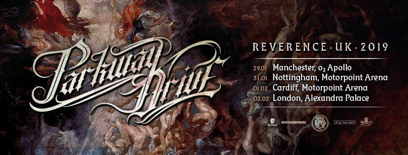 Concerts Metal Calendar Parkway Drive Tour 2019 01