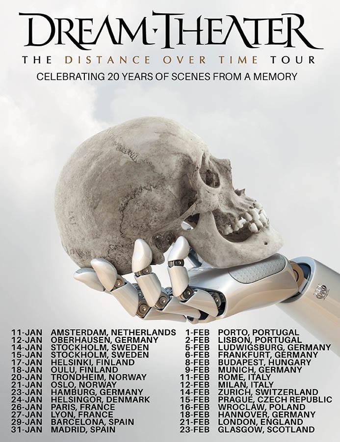 agenda concerts metal