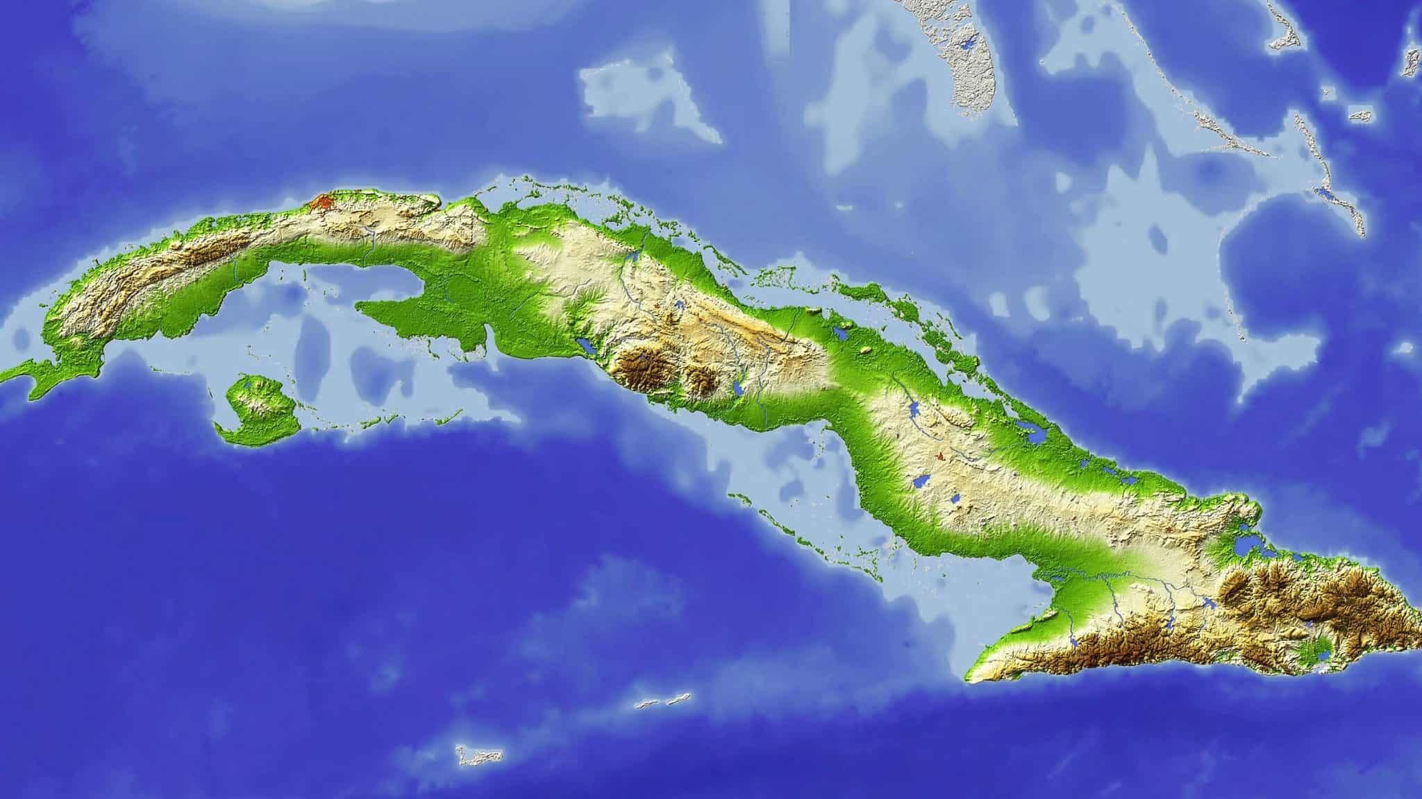 Cuba Map D Cuba