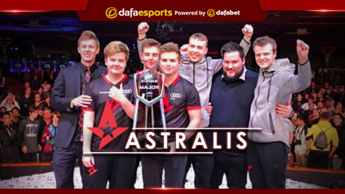 ELEAGUE Major 2017 Tournament Champions Astralis Dafa