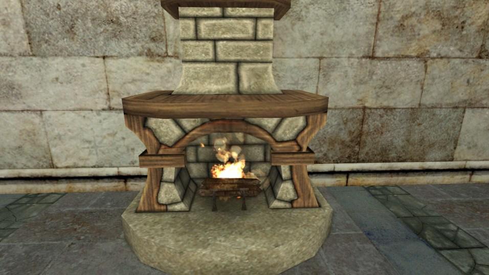 small stone fireplace 4