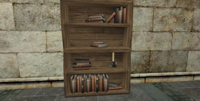 Academic's Bentwood Bookshelf