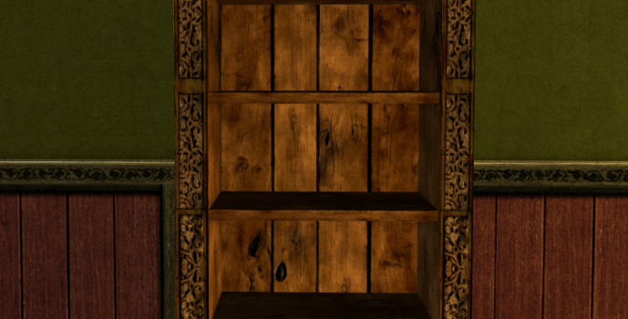 Rich Rohirric Bookcase