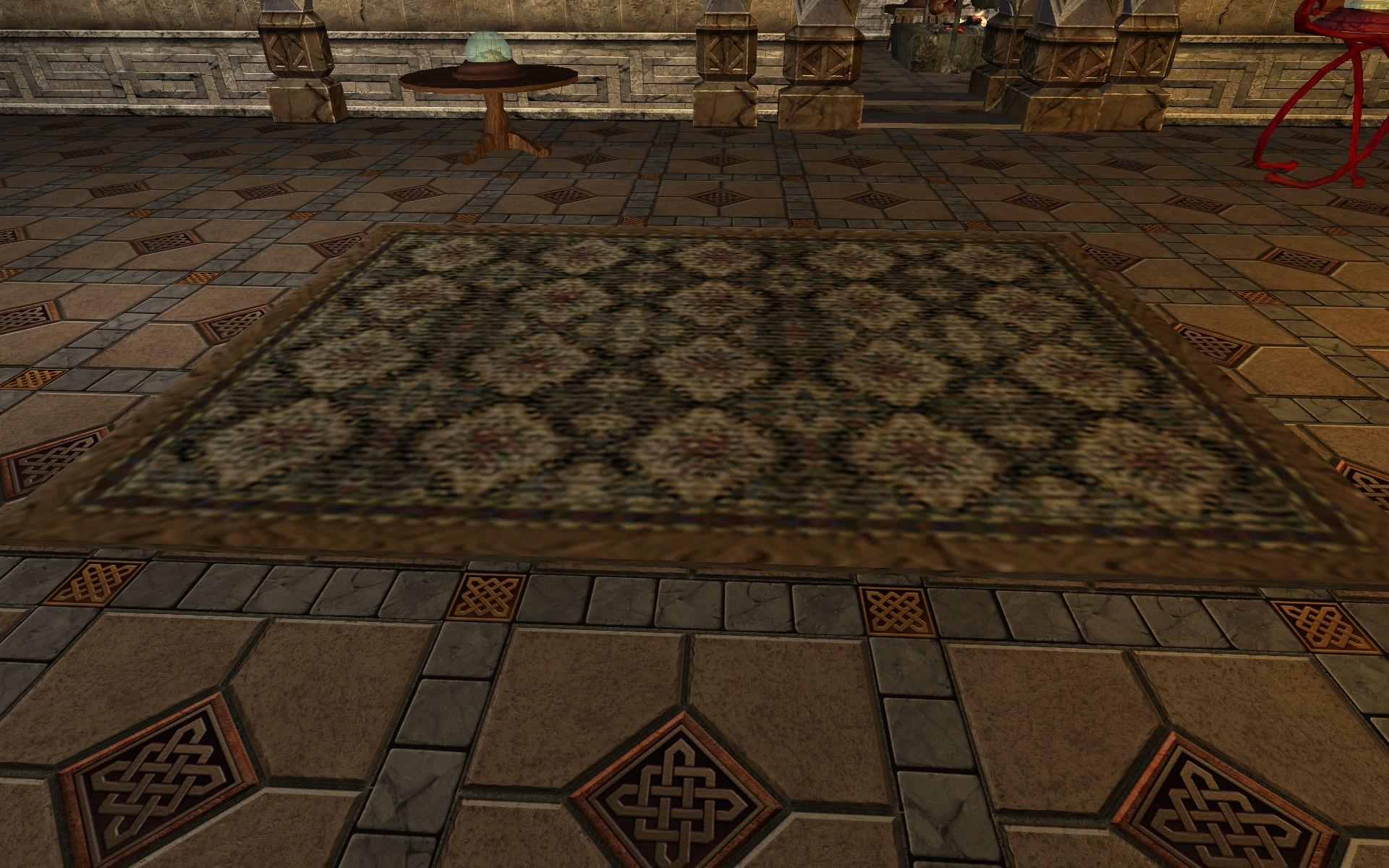 Large Brown Rug