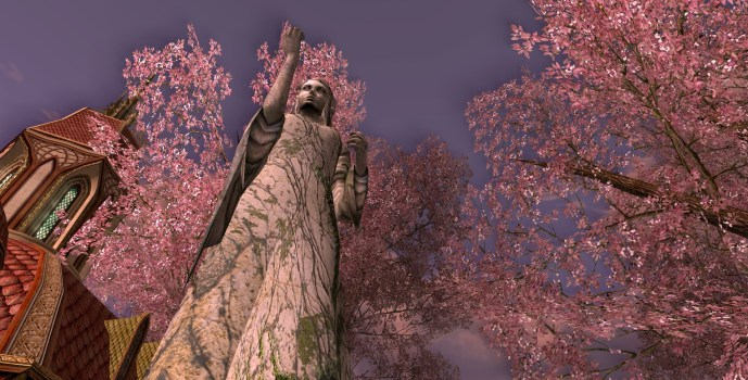 Lórien Statue