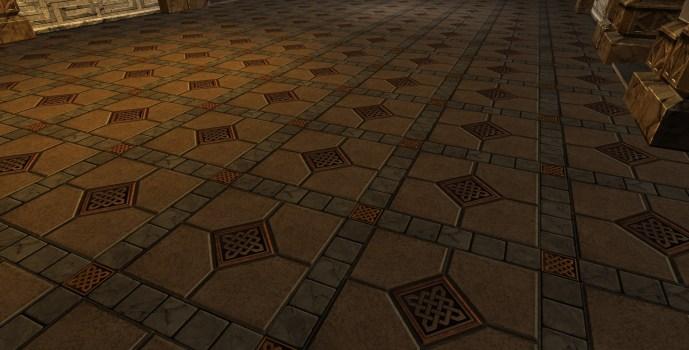 Grey Diamond Stone Floor