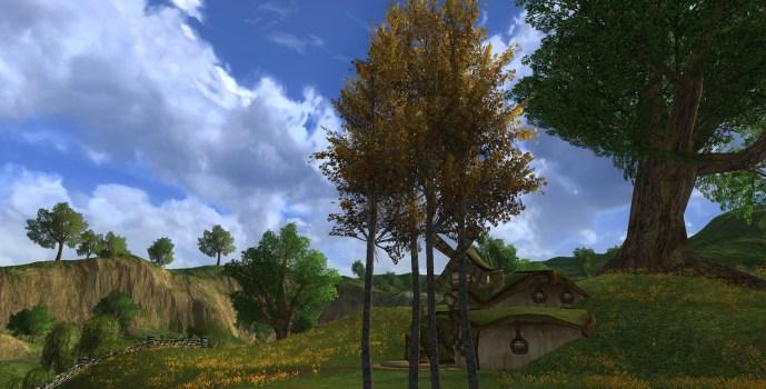 Four Birch Trees
