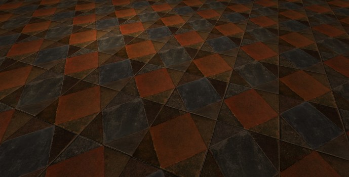 Square Tile Floor
