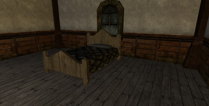 Pointed Bed