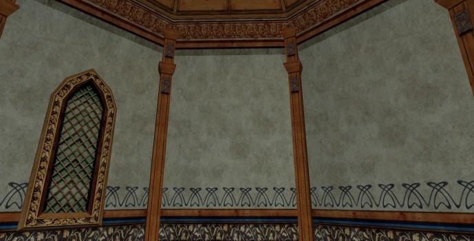 Leaf Plaster Wall