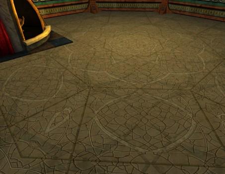 Intricate Tile Floor