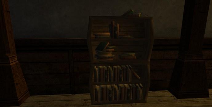 Scholar's Bentwood Bookshelf