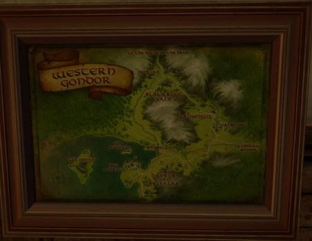 Large Map of Western Gondor