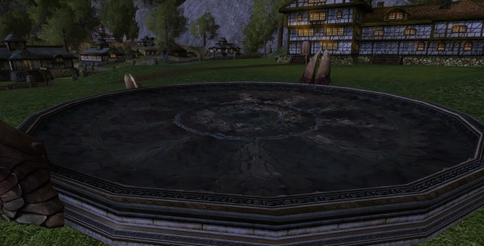 Round Gondorian Reflection Pool