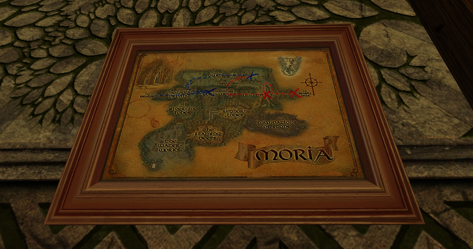 Small Map of Bingo in Moria