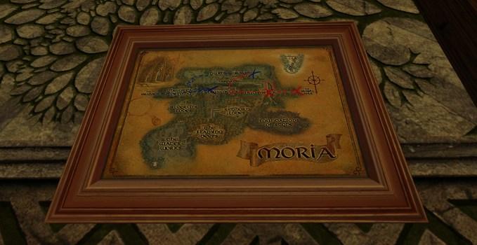 Small Map of Bingo in Moria
