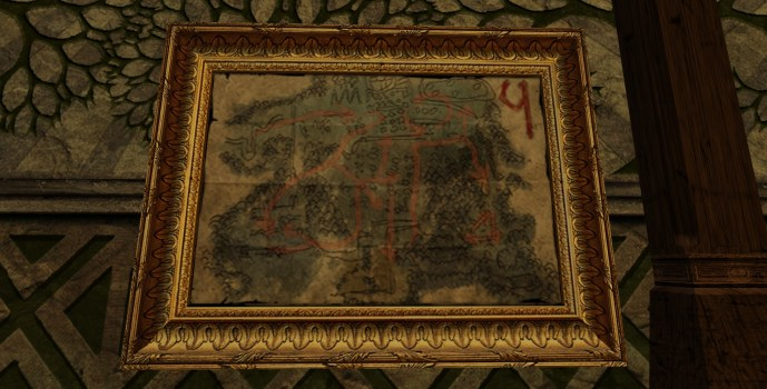 Ketill's Large Map of Bingo in Moria