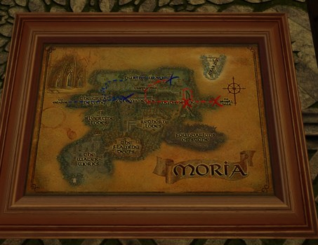 Large Map of Bingo in Moria