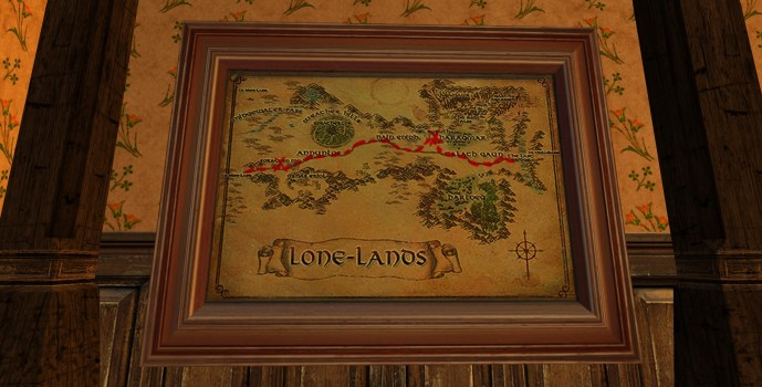 Large Map of Bingo in the Lone-lands